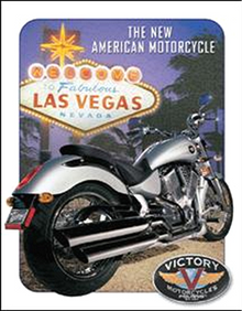 VICTORY VEGAS MOTORCYCLE SIGN