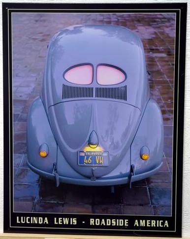 VW SPLIT WINDOW 1946 SIGN
