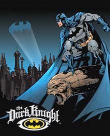Photo of BATMAN GOTHUM, THE DARK KNIGHT SIGN