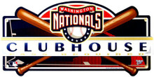 WASHINGTON NATIONALS BASEBALL CLUBHOUSE SIGN