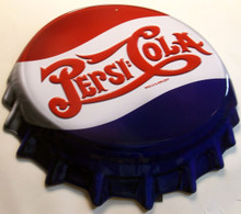 BEAUTIFUL 3-D PEPSI CAP, GREAT DETAIL
