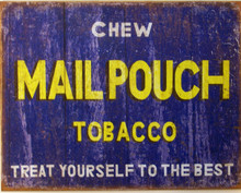 NOSTALGIC CHEWING TOBACCO SIGN