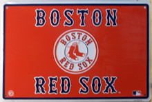 GREAT SIGN FOR ANY BOSTON RED SOX FAN, GREAT COLORS AND DETAIL
