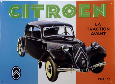 The Classic Citron with the French flag in the background great colors and style
