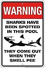 """SMALL HUMOROUS SIGN WITH HOLES FOR EASY MOUNTING APOX 8"""" X 10""""  WITH HOLES FOR EASY MOUNTING"""