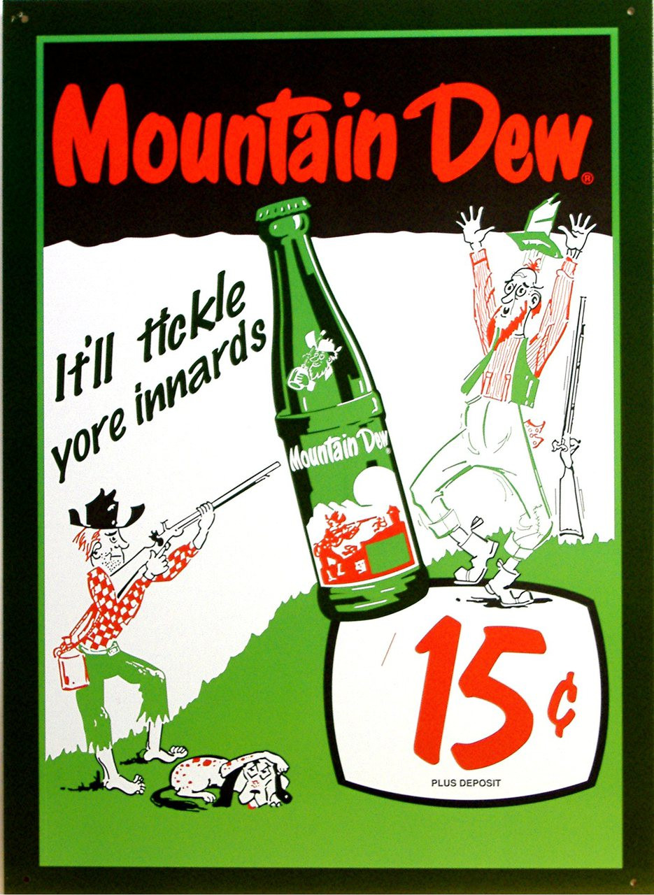Mountain Dew Sign