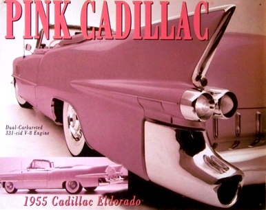 Photo of CADILLAC PINK 55 EL DORADO, OUT OF PRODUCTION WITH ONLY 2 LEFT