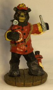 "FIREFIGHTER BEAR 3"" X 2 3/4"" X 5 1/4"""