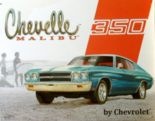 Photo of CHEVY CHEVELLE MALIBU 350 SIGN GREAT LOOKING CAR!!