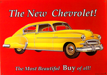 Photo of CHEVY DELUXE SIGN GREAT COLOR AND GRAPICS