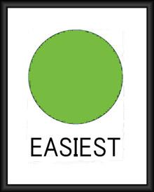 SKI TRAIL EASIEST FULLY CUSTOMIZABLE ENAMEL SIGN S/O