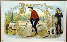 Photo of CIGAR, SAFETY BRAND GREAT GRAPHICS AND COLOR IN THE OLD CIGAR ADD