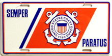 Photo of COAST GUARD LICENSE PLATE