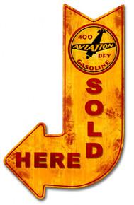 GAS & OIL Vintage & Retro Tin & Metal SIGNS