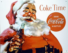 Photo of COKE SANTA RICH COLOR AND GREAT DETAIL, EVEN SANTA NEEDS A BREAK FROM MILK AND COOKIES!