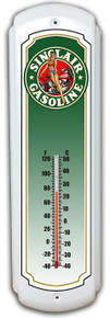 """Make a statement with our Decorative Retro Metal Thermometers. A Classic addition to any room, these heavy duty steel beauties make a great gift. Good when it's hot, cold or any temperature in between.  Measures 5"""" x 17"""" and is a S/O Special Order item which takes from 7 to 10 business days to ship/"""