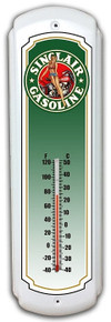 """Make a statement with our Decorative Retro Metal Thermometers. A Classic addition to any room, these heavy duty steel beauties make a great gift. Good when it's hot, cold or any temperature in between. Measures 5"""" x 17"""" and is a S/O Special Order item which takes from 7 to 10 business days to ship."""