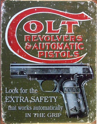 Photo of COLT EXTRA SAFETY ADD FOR COLT REVOLVERS AND AUTOMATIC PISTOLS RUSTIC COLORS AND WEATHERING FOR OLD TIME LOOK