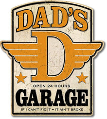 """THIS HIGH QUALITY DIE CUT SHAPED, WEATHERED LOOK, METAL SIGN MEASURES,  20 1/2""""  X  23"""""""