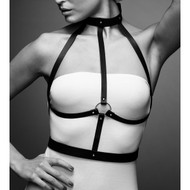The Maze Collection Maze H Harness by Bijoux Indiscrets-Black