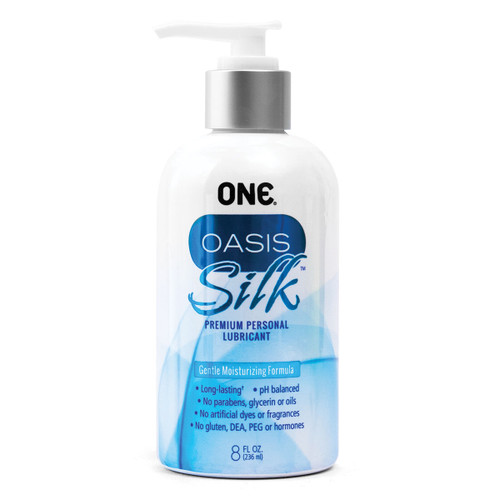 Oasis Silk Personal Hybrid Lubricant by ONE-8 fl oz