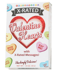 Valentine X-Rated Candy Hearts