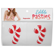 Edible Christmas Pasties-Candy Canes