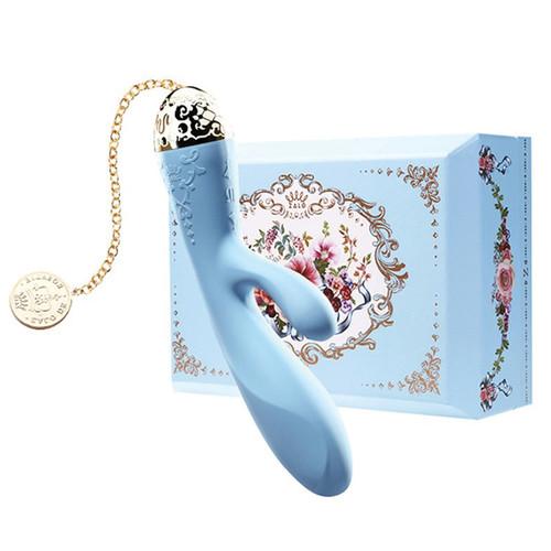 Zalo Versailles Rosalie Rabbit Vibrator-Royal Blue