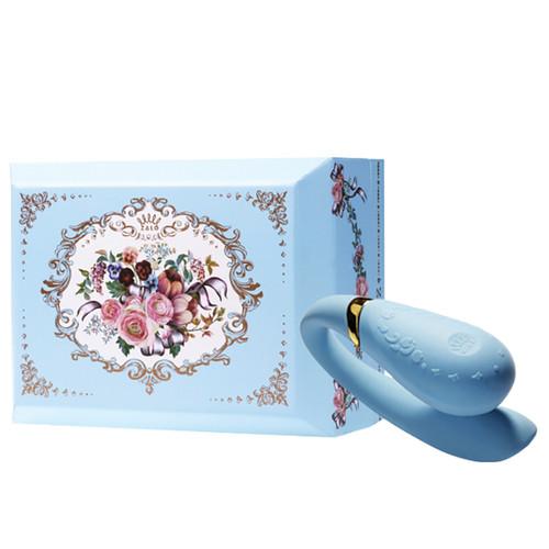 Zalo Versailles Fanfan Couples Vibrator-Royal Blue