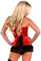Red Satin Sweetheart Corset by Daisy Corsets