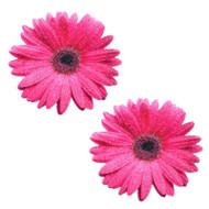 Pink Daisy Glitter Nipztix Pasties