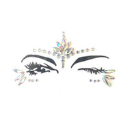 Star Craft Crystal Jewel Face Stickers