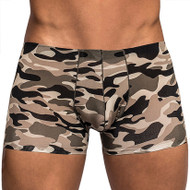 Male Power Commando Camouflage Mini Shorts for Men