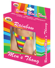 Men's Rainbow Thong
