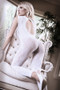 Worth The Wait White Floral Body Stocking by Fantasy Lingerie