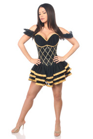 Egyptian Goddess Corset Dress Costume by Daisy Corsets