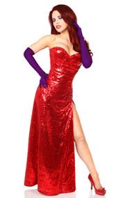 Jessica Rabbit Corset Dress Costume by Daisy Corsets