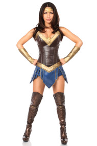 Wonder Woman Warrior Corset Dress Costume by Daisy Corsets