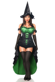 Green Witch Corset Costume by Daisy Corsets