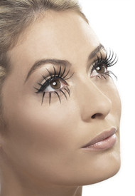 Gothic Manor Ghost Bride Black Eyelashes