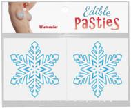 Edible Christmas Snowflake Pasties