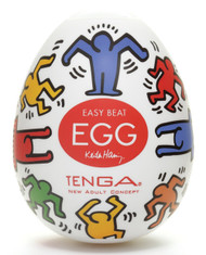 Tenga Keith Haring Egg Series Male Masturbator-Dance Egg