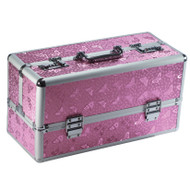 Large Lockable Vibrator Storage Case by BMS-Pink