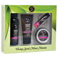 Hemp Seed Mini Mania Travel Gift Set by Earthly Body-Skinny Dip