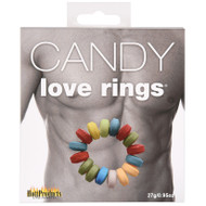 Candy Love Rings 3 Pack Cock Rings