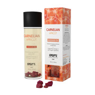 Exsens Paris Carnelian Apricot Crystal Massage Oil