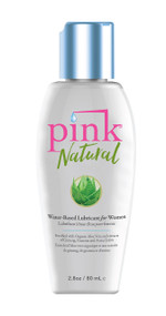 Pink Natural Water Based Lube for Women by Pink Lubricants-2.8 fl oz