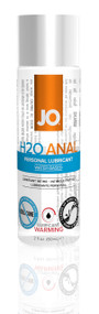 JO H2O Anal Water Based Lubricant Warming by System JO-2 oz