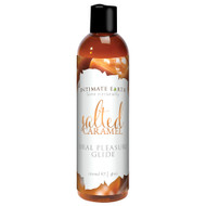 Intimate Earth Natural Flavors Oral Pleasure Glide Lubricant-Salted Caramel