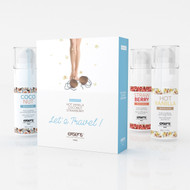 Exsens Paris Let's Travel Edible Warming Gourmet Massage Oil Trio